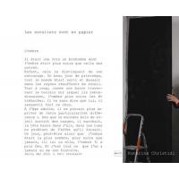 """"""" Les escaliers sont en papier """" de Katerina Christidi"""